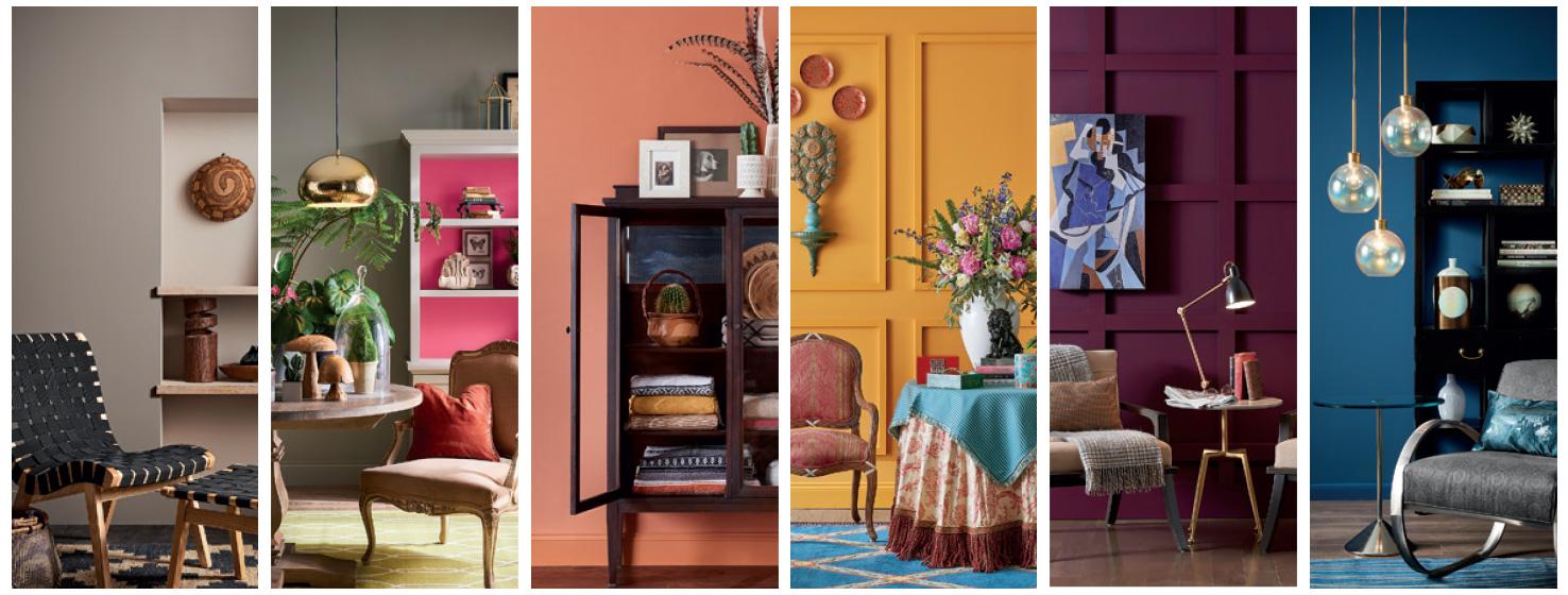 role of colours interior design