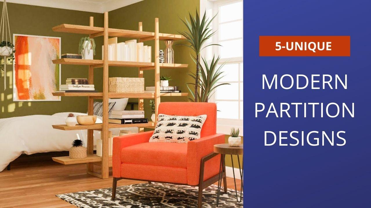 5-unique partition designs